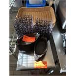 Baskets, cast iron valor crocks