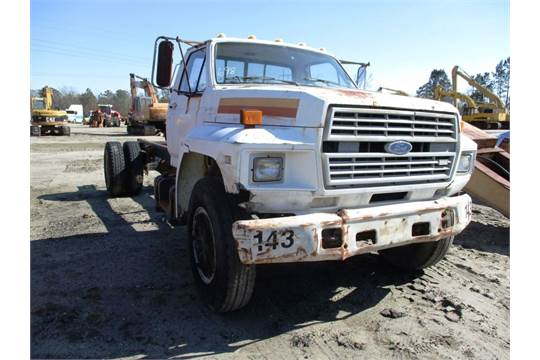 1986 ford f800 vin 1fdpf82h1gva26341 cab chassis truck 370 gas rh bidspotter com Lincoln Aviator Manual Jeep Wrangler Manual