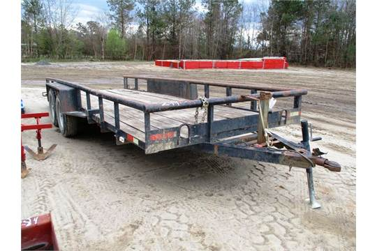 homemade 7x20 ta trailer no title subject to nc sales tax bill of sale available upon r