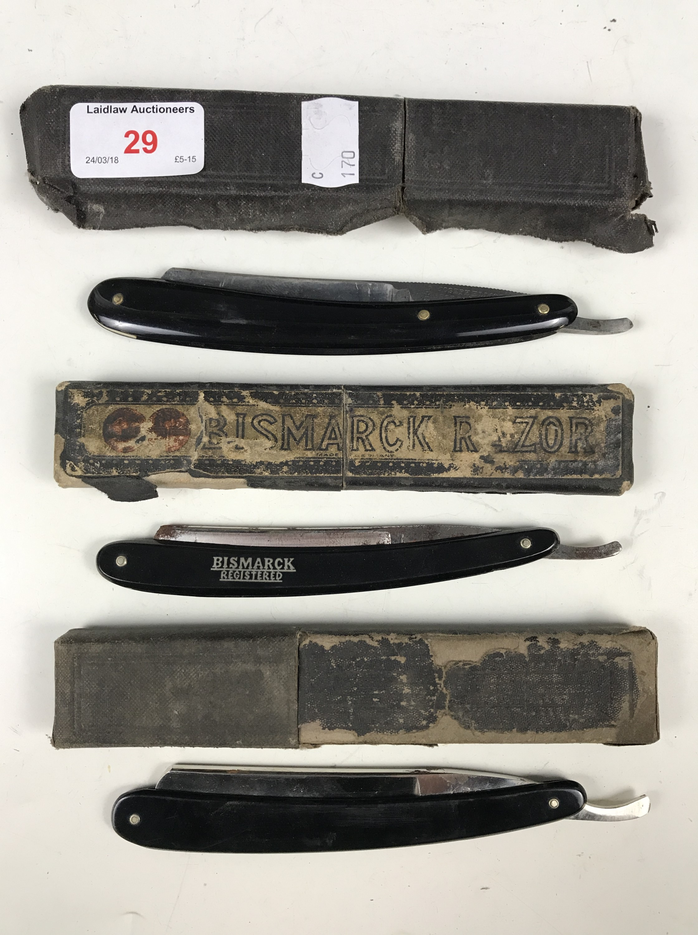Lot 29 - A Bismark razor and two others