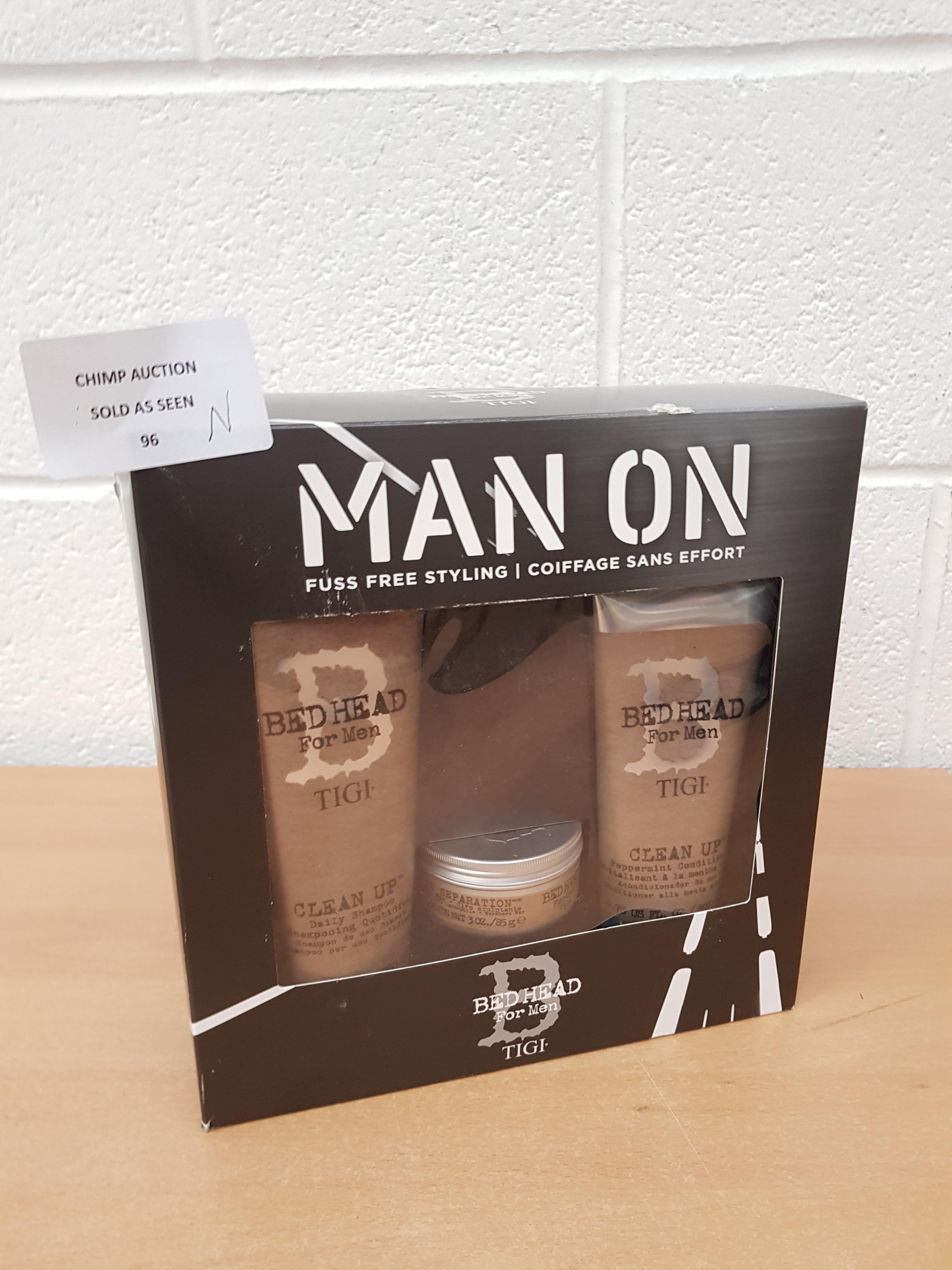 Lot 96 - Brand new Tigi Bed Head Men's Gift Pack