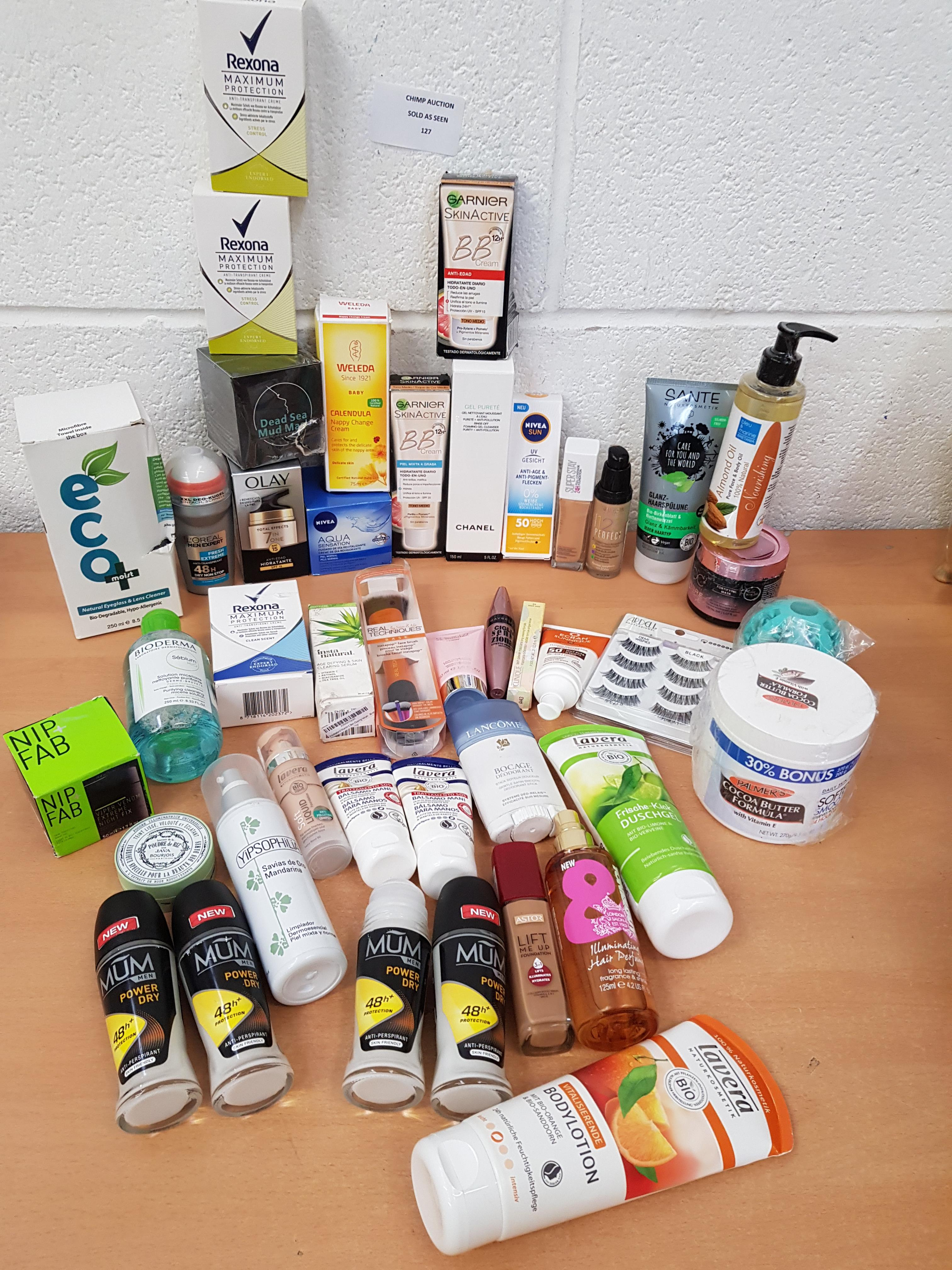 Lot 127 - Joblot of mixed Mostly New Personal Care, Cosmetics & More RRP £790
