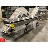 Infeed Wrapper Conveyor, 15' Rigging Fee: $150