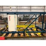 Flexicon Super Sack Lifting System with 4,000 LB J.B and Harrington 2-Ton Hoist Rigging Fee: $75