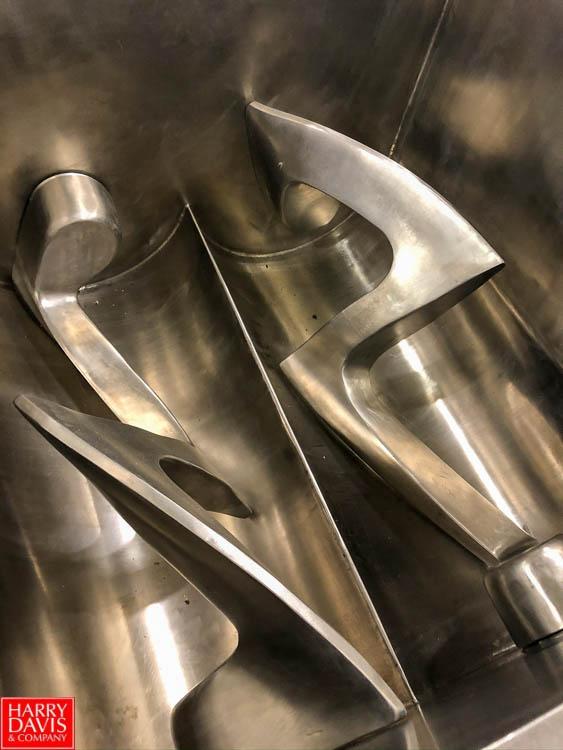 2008 Jaygo Jacketed Paddle Blender, Model M57, S/N 107016 Rigging Fee: $75 - Image 2 of 2