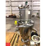 S/S Cone Filler with Air Regulator Rigging Fee: $25