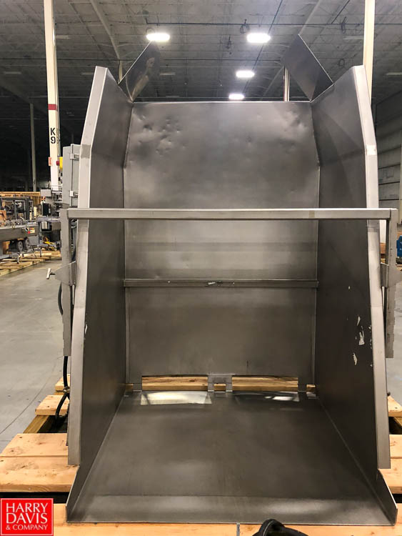 Custom Metal Craft S/S Hydraulic Super Sack Dumper, Model 1149600, S/N 44665 Rigging Fee: $75 - Image 2 of 2