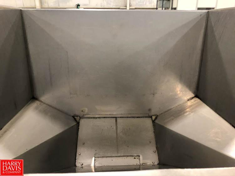 S/S Short Hopper, 4' x 4' Rigging Fee: $75 - Image 2 of 2