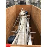 (2 Sets) Product Conveyor, 3' L Rigging Fee: $100