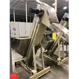 Hoppmann EP0808 Incline Conveyor and S/S Hopper Rigging Fee: $100