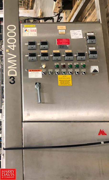 Brandt DMV9000 Chocolate Tempering Rigging Fee: $150 - Image 2 of 3