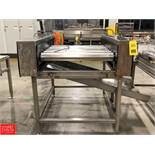 S/S Roller Sheet Conveyor Rigging Fee: $75