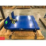 Hydraulic Tote Lifter, 2,500 LB Capacity Rigging Fee: $75