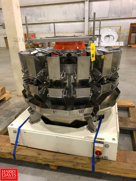 Yamato Data Weigh 14-Head Scale Rigging Fee: $250 - Image 3 of 4