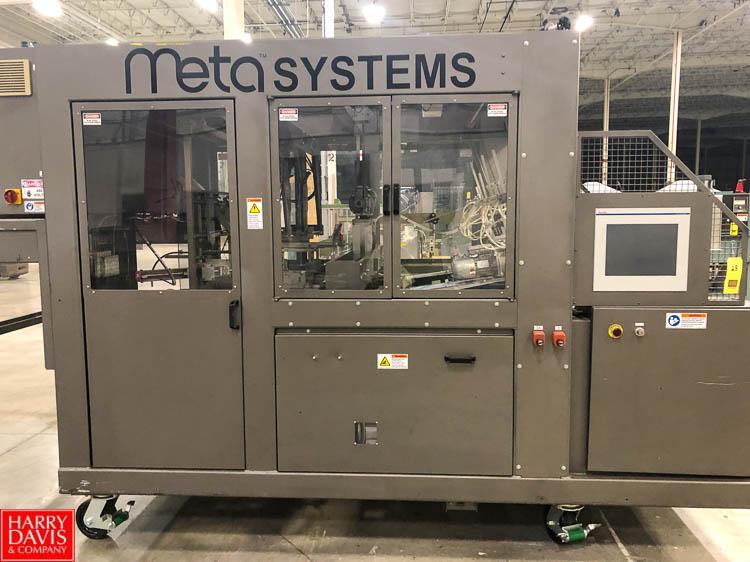 Smurfit-Stone Meta Systems Case Former, Model Meta 150, S/N 200405 Rigging Fee: $250