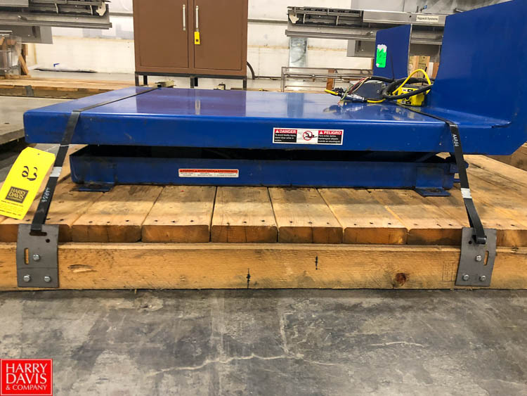 Hydraulic Tote Lifter, 2,500 LB Capacity Rigging Fee: $75 - Image 2 of 2