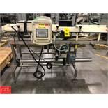 Safeline Metal Detector, Model R-V3-PW 300/1800, S/N 68852 Rigging Fee: $75
