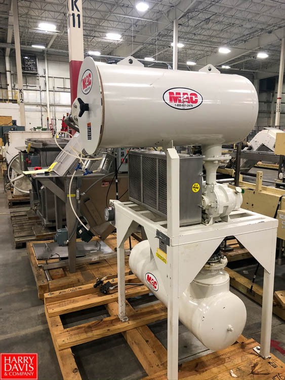 Mac Air Conveyor Package, Model 562- Horizontal Blower Packager, S/N 97-2772-4A-001 Rigging Fee: $ - Image 2 of 2