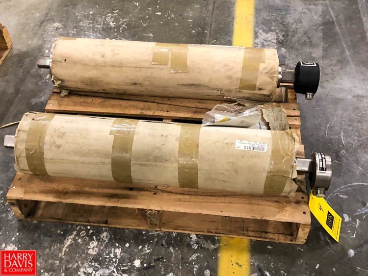 Inter Roll Joki Product Conveyor Drives, Type 1655/600, S/N 9589 and 11115 Rigging Fee: $75