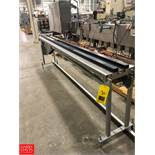 Doboy Product Conveyor, Model J-Wrapper, 95-15862 Rigging Fee: $75