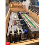 (2 Sets) Product Conveyor, 6' L Rigging Fee: $100