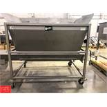 Conveyor Engineering Hopper with Auger Conveyor, 6' x 4.5' Rigging Fee: $75