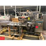 Doboy Microtronic Flow Wrapper, Model Microtronic L-B, S/N 95-18142, with Outfeed Bosch Conveyor