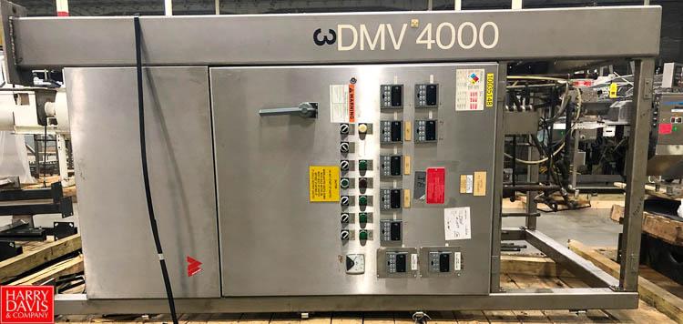 Brandt DMV9000 Chocolate Tempering Rigging Fee: $150 - Image 3 of 3