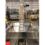 Hoppmann EP-15 Incline Conveyor and S/S Hopper Rigging Fee: $100