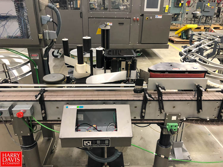 Labeling Systems Inc Labeler, Model 2997, S/N 18078SR, with Conveyor Rigging Fee: $75 - Image 2 of 2