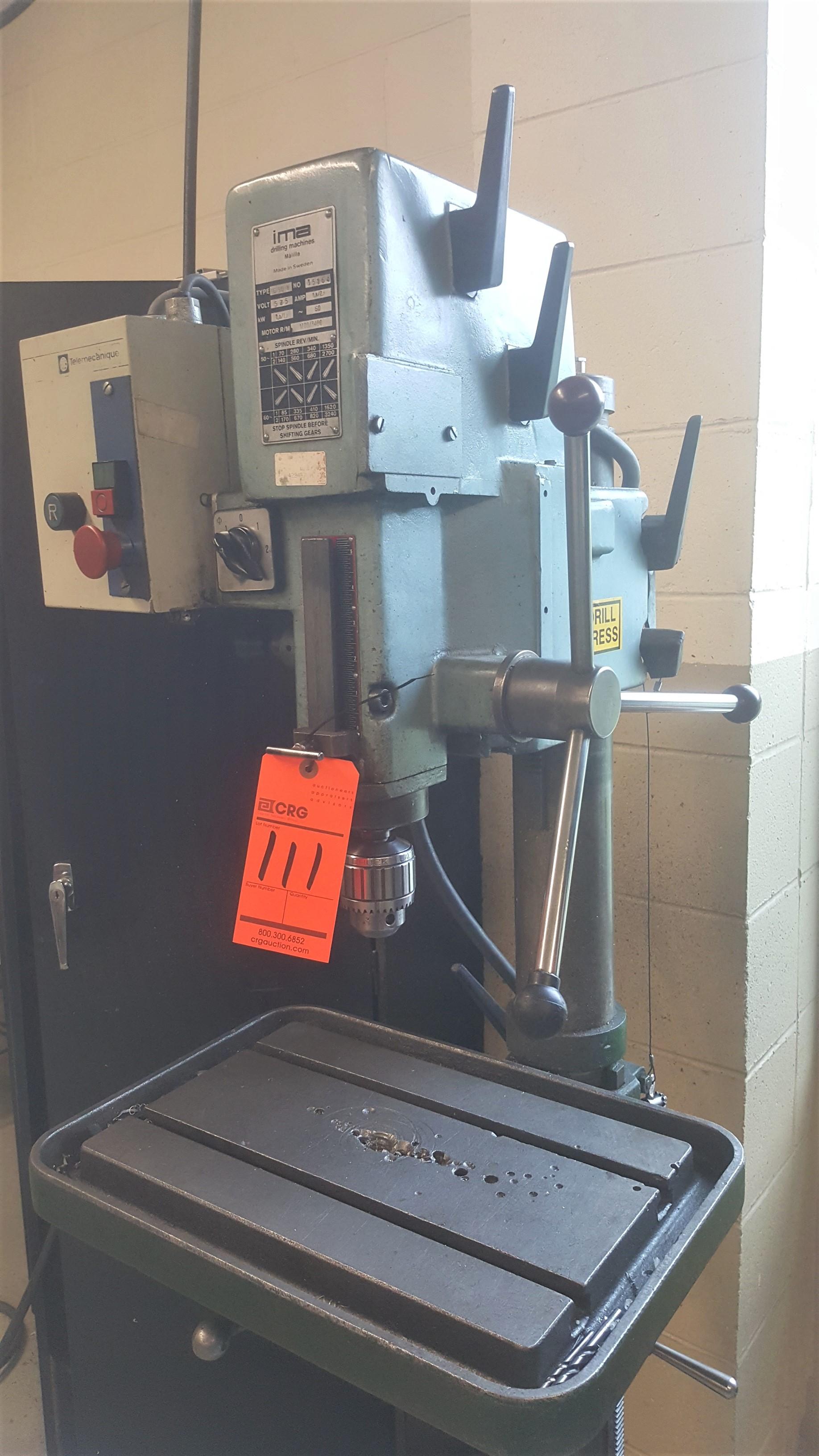Lot 111 - IMA Press Drill mod.IG-3Q-8