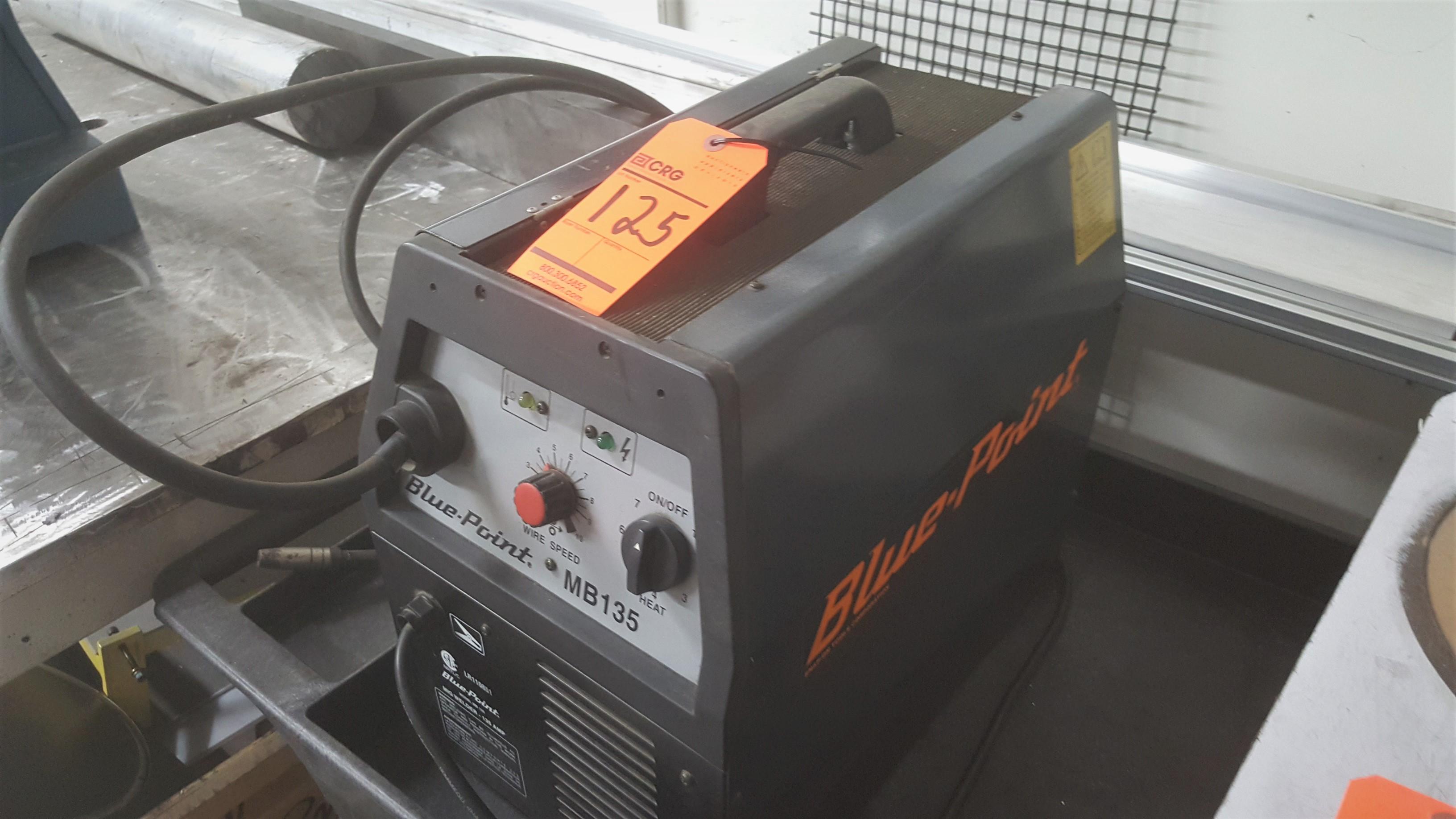 Lot 125 - BLUEPOINT MB135 welder