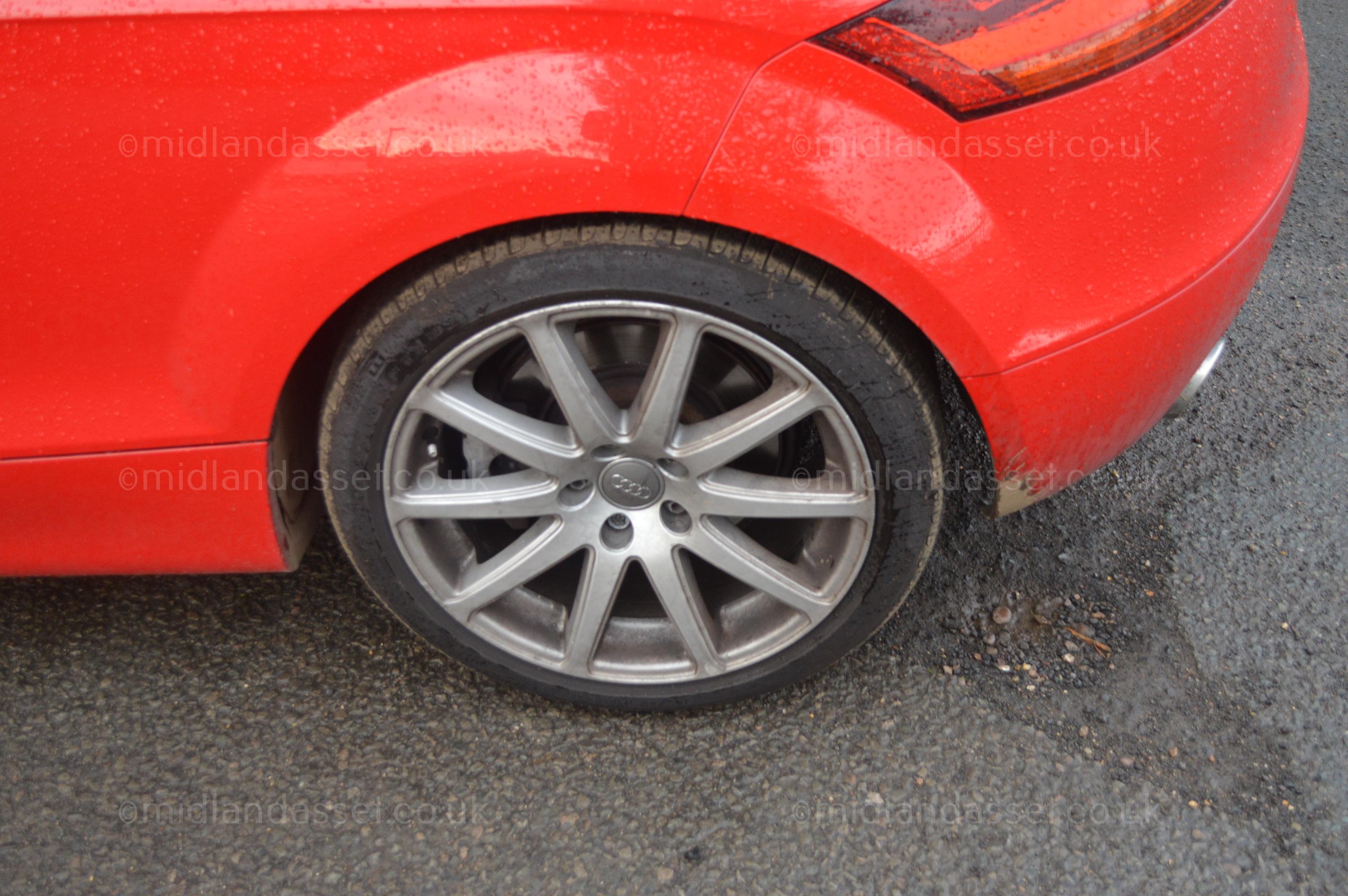 D 2007 56 Reg Audi Tt Quattro 3 2 Coupe Date Of