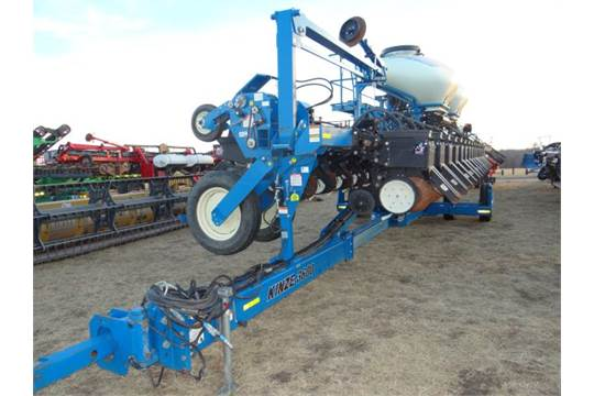 Kinze 3600 Planter 2011 60392 11 000 Acres 16 31 Asd Scales
