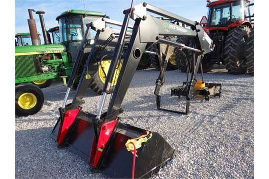 Westendorf TA-29 Self Leveling Loader w/Brackets, Little Use