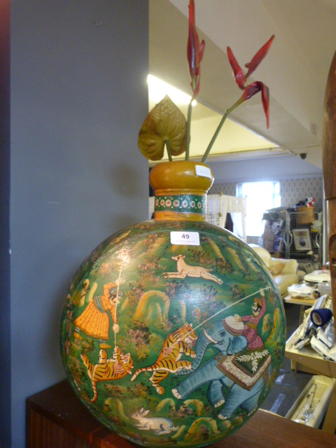 Lot 49 - Large Decorative Metal Jardiniere