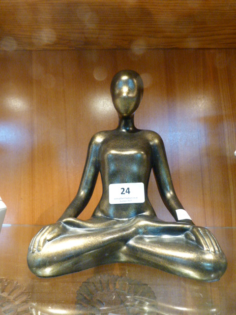 Lot 24 - Meditation Figurine
