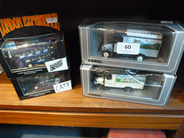 Lot 60 - Four Boxes Model Cars