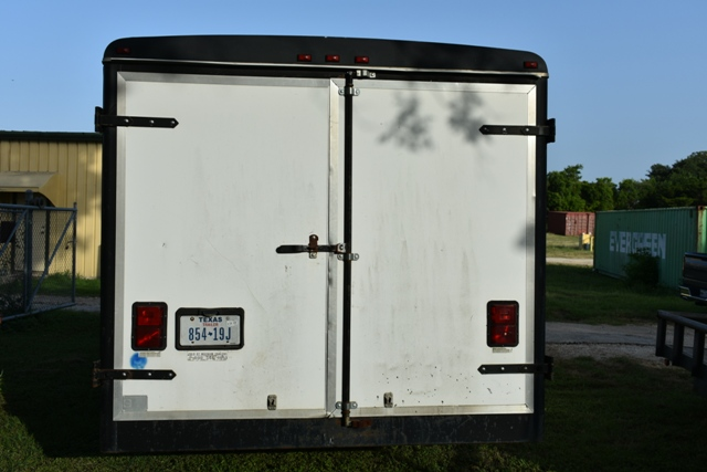 1995 WELLS CARGO ENCLOSED TRAILER, APPROX 8' X 20LG - Image 5 of 5