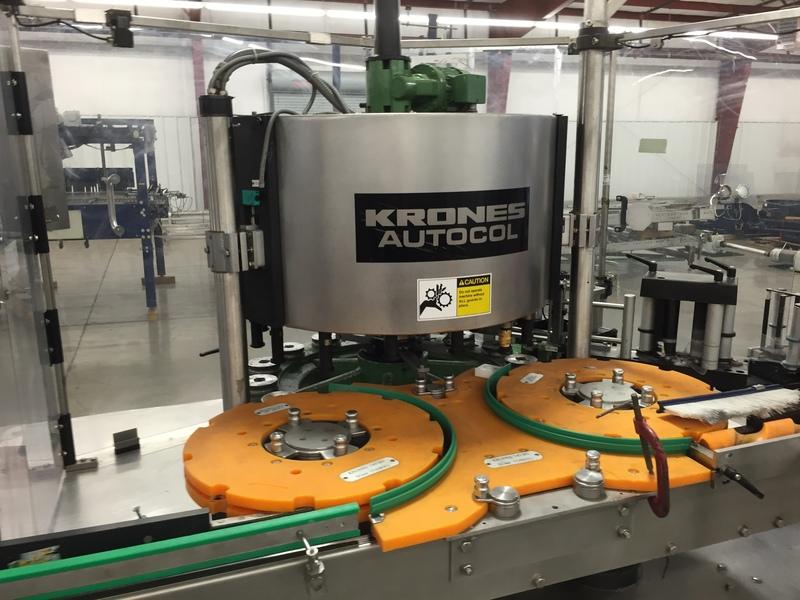 Lot 37 - Krones Autocol Pressure Sensitive Labeler