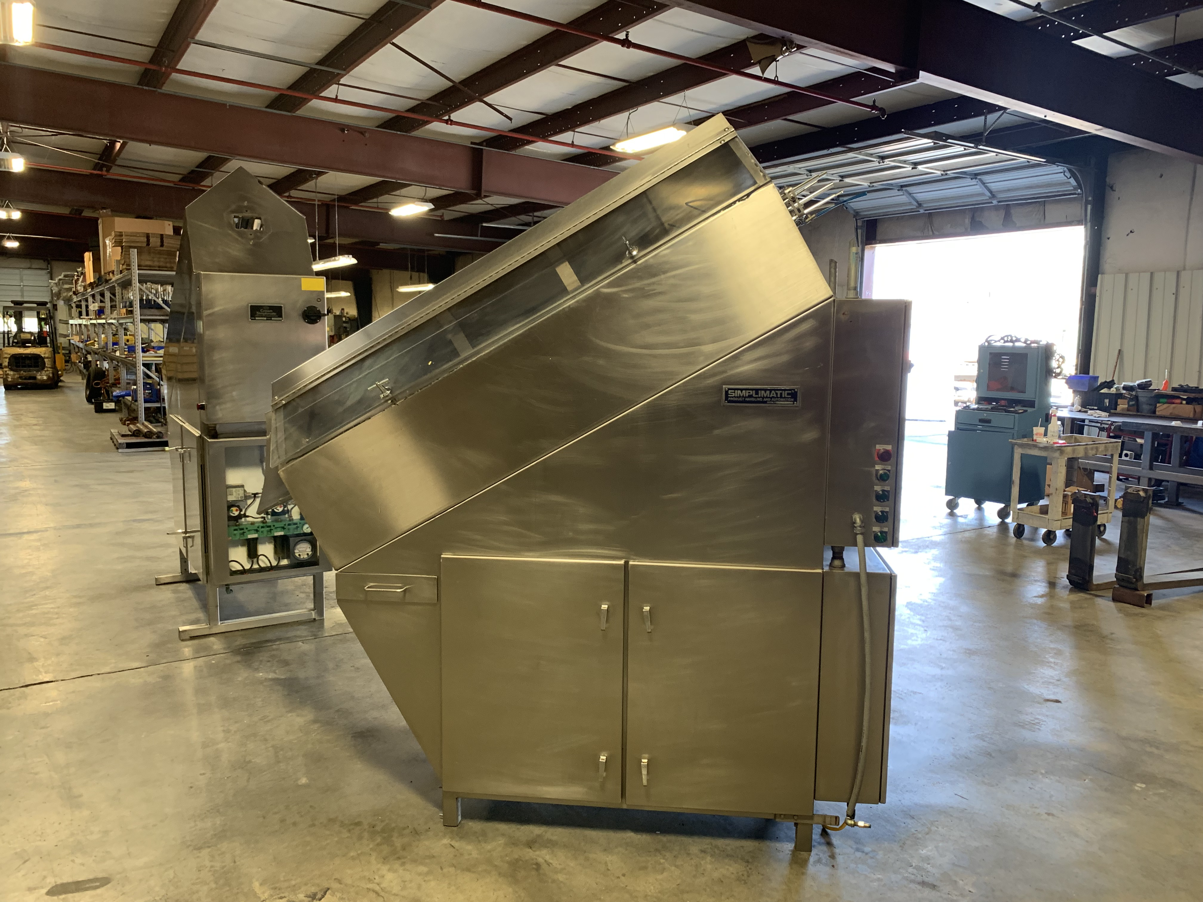 Lot 54B - Crown Simplimatic Gravity Ionized Air Can Rinser