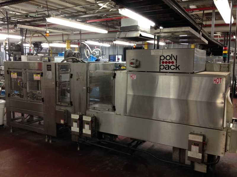 Lot 21 - Poly Pack Tray Shrink Wrapper