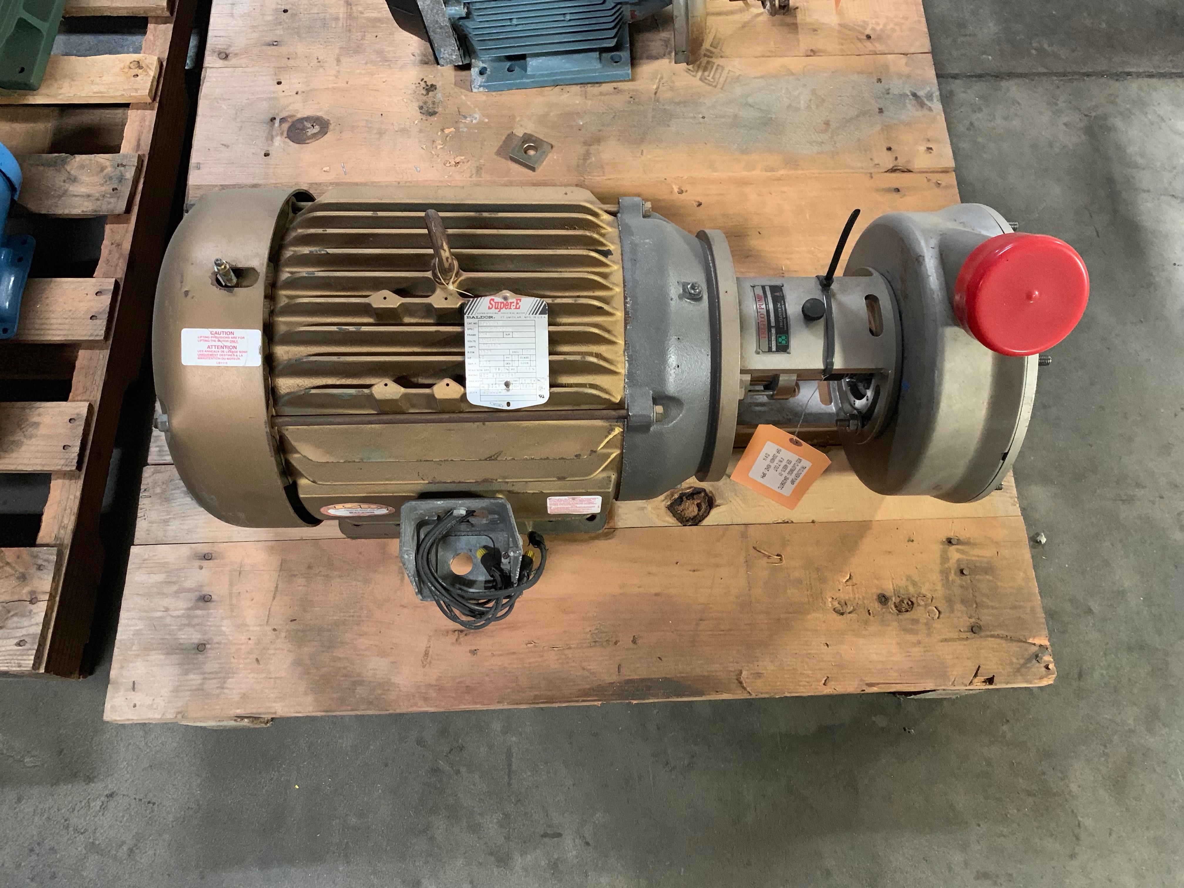 Lot 1 - Tri Clover 15HP Centrifugal Pump