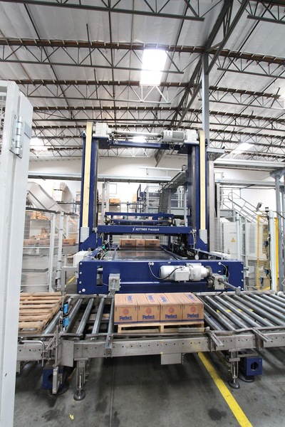 Lot 36 - Krones Kettner Low Level Palletizer