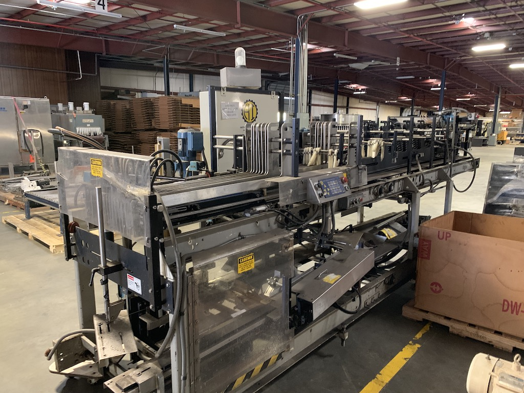 Lot 31 - Hartness 825 Case Packer with Laner