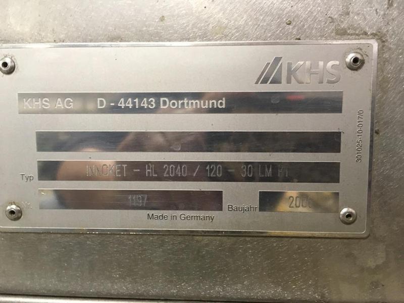 Lot 56 - 2006 KHS Innotek High Speed Labeler, new never used