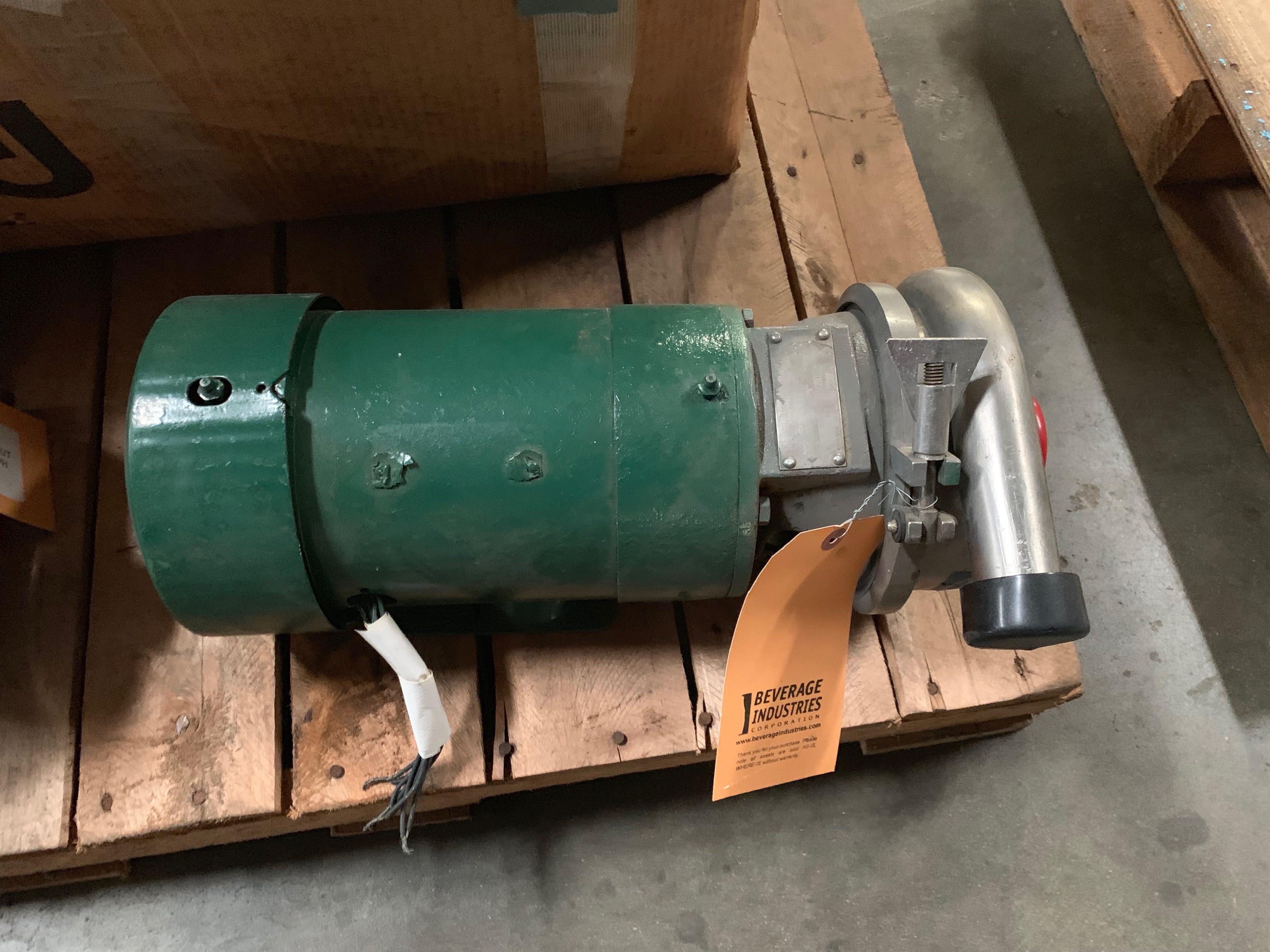 Lot 7 - Crepaco 3HP Centrifugal Pump