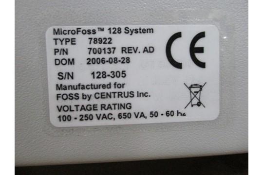 Lot 28 - Foss MicroFoss 128 Incubator