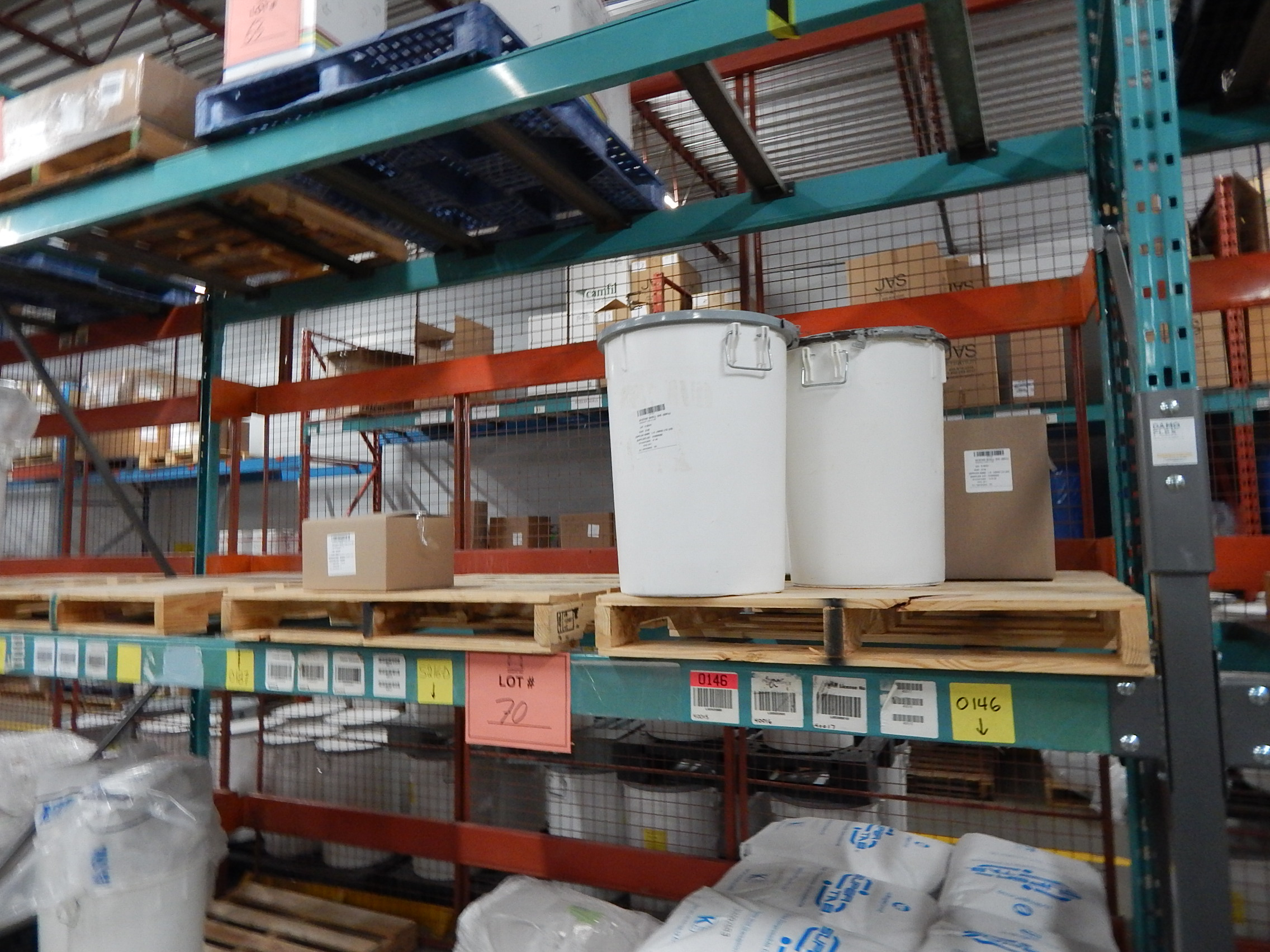 Lot 70 - LOT/ CONTENTS OF SHELF CONSISTING OF PHARMACEUTICAL SUPPLIES