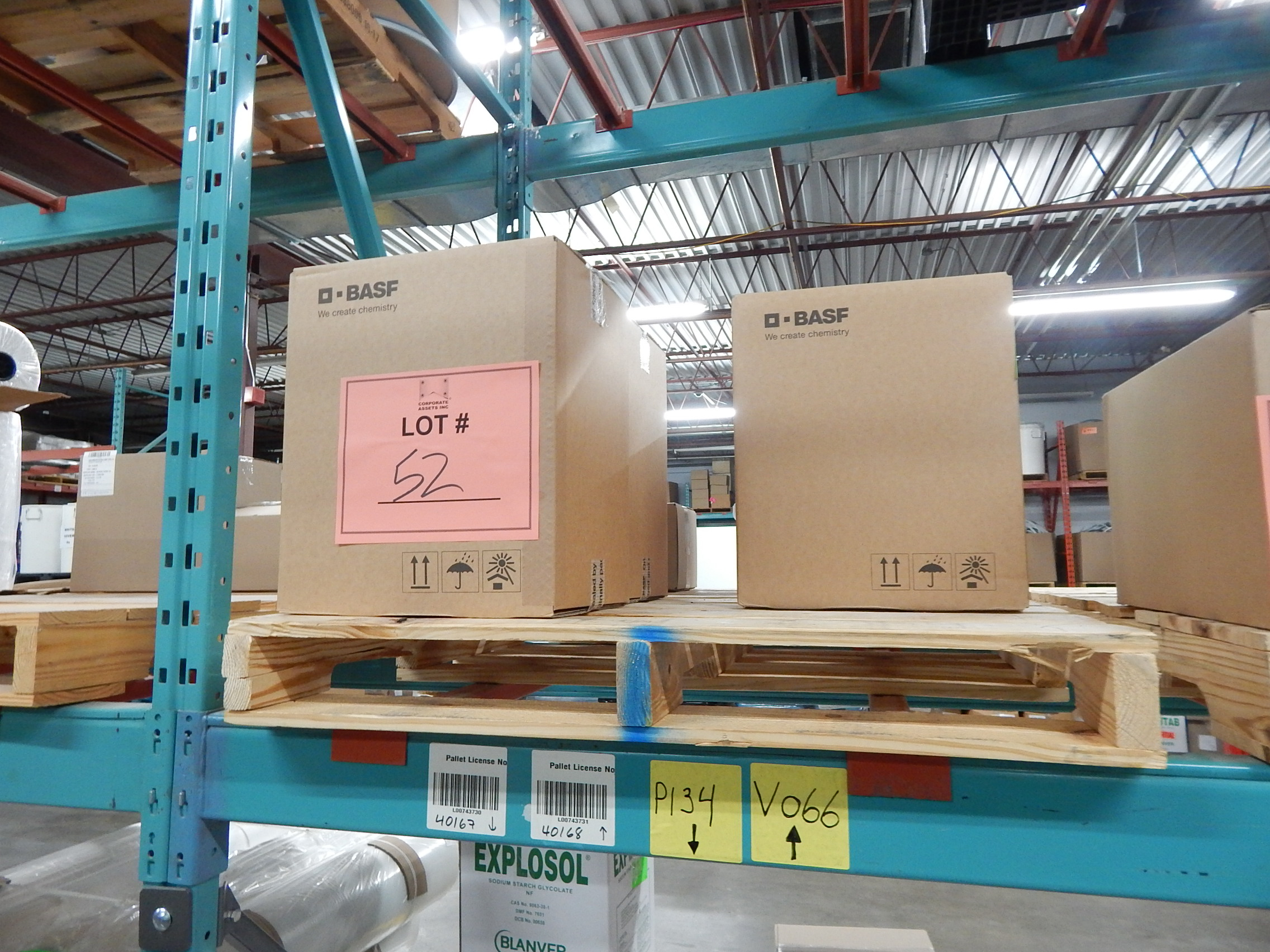 Lot 52 - LOT/ SKID WITH CONTENTS CONSISTING OF BOXES OF D-BASF VITAMIN D3